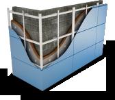 Система АЛЬТ-ФАСАД-04 (Металлокассеты)