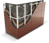 Система АЛЬТ-ФАСАД-05 (Натуральный камень)