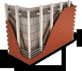 Система АЛЬТ-ФАСАД-11 (Декоративные плитки «под кирпич»)